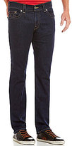 True Religion Geno Slim-Fitting Straight-Leg Low-Rise Denim Jeans
