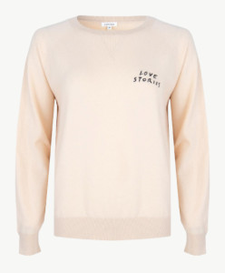 LOVE Stories Jerry Sweater Off White - XS