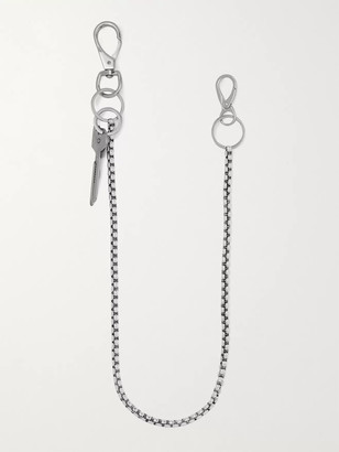 Martine Ali Baby Boxer Sora Silver-Plated Wallet Chain