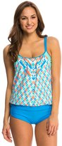 Next Go with the Flow Double Up Tankini Top 8136222