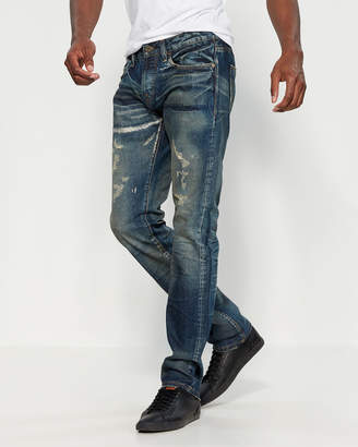 Cult of Individuality Storm Greaser Straight Leg Jeans