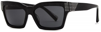 Alain Mikli Arlette Black Square-frame Sunglasses