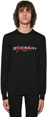 Givenchy Double Logo Intarsia Sweater