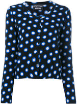 Moschino spot print cardigan - women - Cotton - 42
