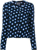 Moschino spot print cardigan
