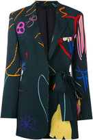 Paul Smith printed blazer - women - Acetate/Viscose - 44