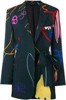 Paul Smith printed blazer - women - Viscose/Acetate - 40