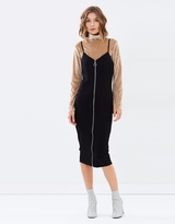 MinkPink Zip Through Dress
