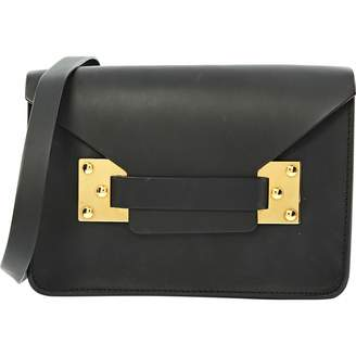 Sophie Hulme Anthracite Leather Handbags