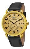Stuhrling Original Men's 50E.333531 Eternity Swiss Quartz Date Goldtone Watch