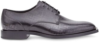 Fendi FF print Derby shoes