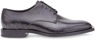 Fendi FF print Derby shoes