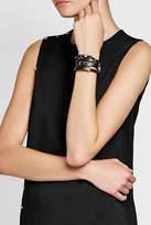 Versace Leather Wrap Bracelet