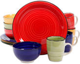Gibson Color Vibes 12-Pc. Dinnerware Set