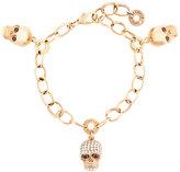 Gavello diamond skull charm bracelet