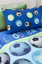 Catherine Lansfield Kids Football Single Duvet Set - Blue