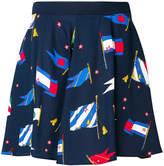 Tommy Hilfiger flag print skirt