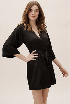 Flora Nikrooz Reverie Robe By in Black Size M/L