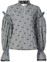Jonathan Simkhai gingham-print shirt
