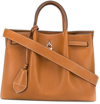 Lanvin Padlock Detail Tote Bag