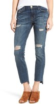 Current/Elliott Women's Step Hem Ankle Skinny Jeans