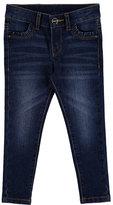 Mayoral Basic Faded Skinny Jeans, Dark Blue, Size 3-6