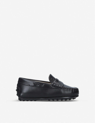 Tod's Nuovo City Gommini leather driving shoes 1-5 years