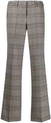 Cambio Plaid Tailored Trousers
