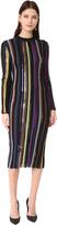 Nina Ricci Long Sleeve Knit Dress
