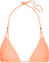 Heidi Klein Bermuda Triangle Bikini Top - Peach