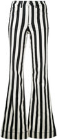 Alice + Olivia Alice+Olivia - striped wide leg jeans - women - Cotton/Polyester/Spandex/Elastane - 26