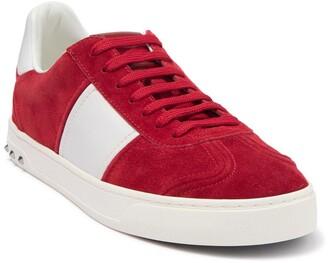 Valentino Suede Colorblock Sneaker
