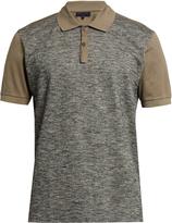 Lanvin Bi-colour polo shirt