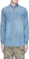 Denham Jeans Cotton chambray shirt