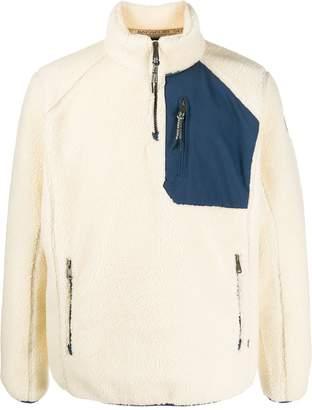 Napapijri textured zip pullover