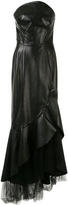 Ermanno Scervino Strapless Asymmetric Dress