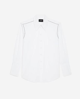 The Kooples Studded white shirt