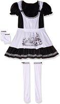 California Costumes Plus-Size Dark Alice Dress, Black/white, Costume