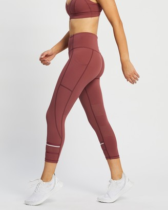Lilybod - Women's Red Tights - Lolah 7-8 Tights - Size XS at The Iconic