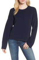 Willow & Clay Women's Cutout Ribbed Sweater