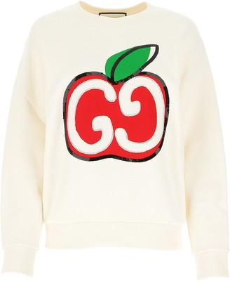 Gucci GG Apple Embellished Sweater