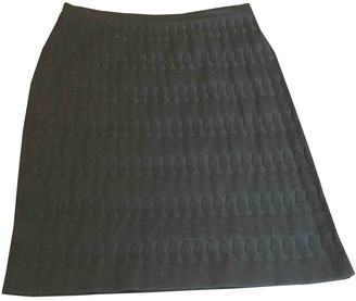 Alaia Black Wool Skirts