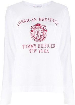 Tommy Hilfiger heritage print T-shirt