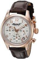 Ingersoll Women's INQ 042 SLRS Pembroke Ladies Analog Display Japanese Quartz Brown Watch