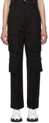 Prada Black Poplin Pockets Trousers