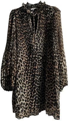 Ganni Spring Summer 2019 Brown Viscose Dresses