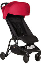 Mountain Buggy Nano Stroller, Ruby Red