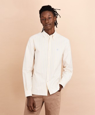 Brooks Brothers Striped Oxford Shirt