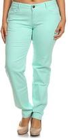 Mint Emperial Premium Jeans - Plus Too