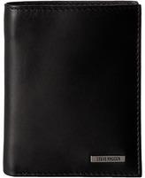 Steve Madden Classic Leather Slimfold Wallet